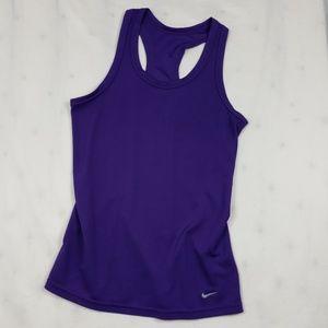 Nike Tight Fit Purple Take Top